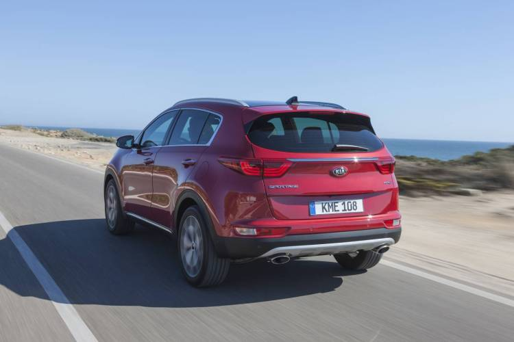 2016 Kia Sportage revealed in Frankfurt