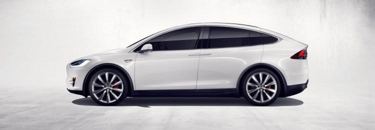 Tesla Model X revealed