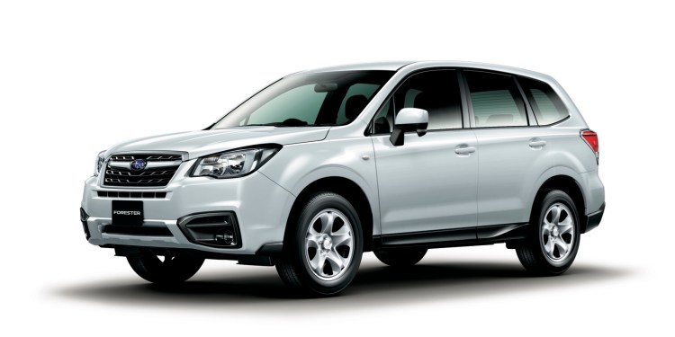 Refreshed Forester revealed