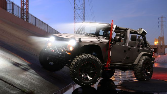 custom Jeep Wrangler revealed for SEMA Cares