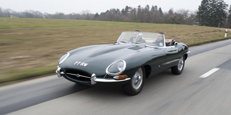 Jaguar E-Type voted Best British Car Ever