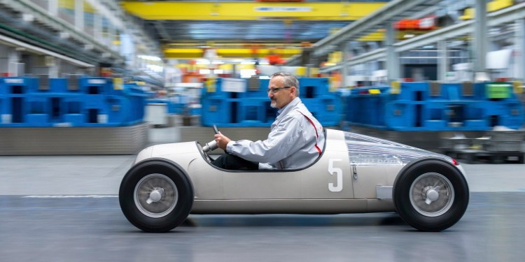 Auto Union Typ C made with a 3D printer
