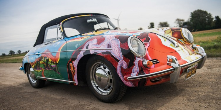 Janis Joplin Porsche 356 sets new auction record