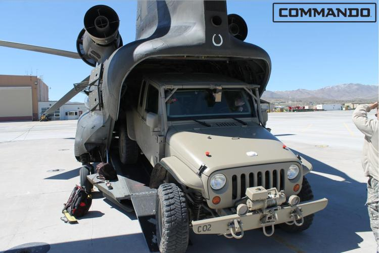 Jeep Wrangler to go back to war