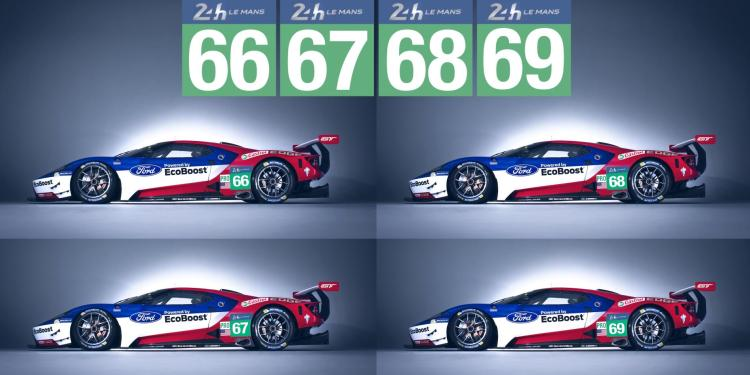 Four Ford GTs to race at Le Mans