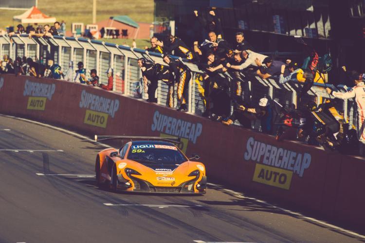 McLaren wins Bathurst 12 hour
