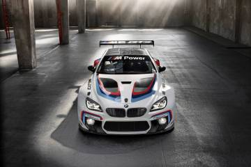Stephen RIchards' will race a factory-backed BMW M6 GT3 in this year's Australian GT championships