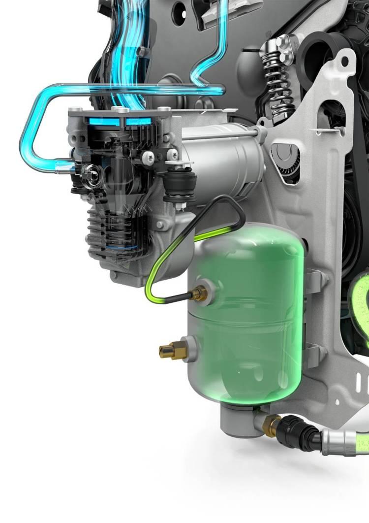 PowerPulse Compressed airtank