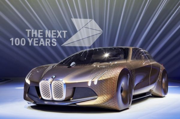 BMW Vision Next 100 concept revealed