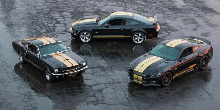 Ford Mustang GT-H history