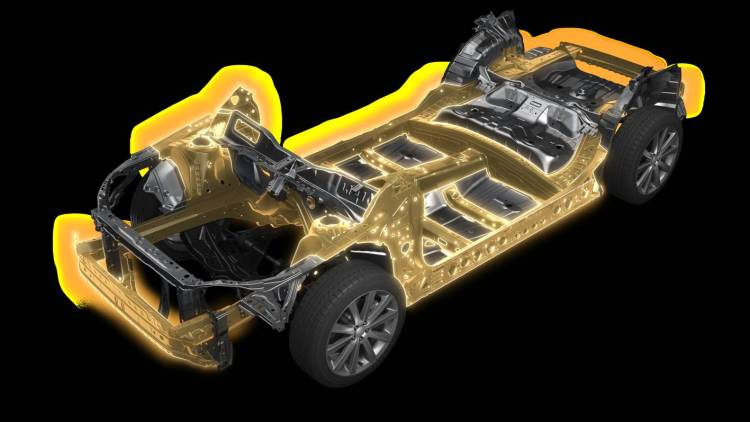 Subaru global platform revealed