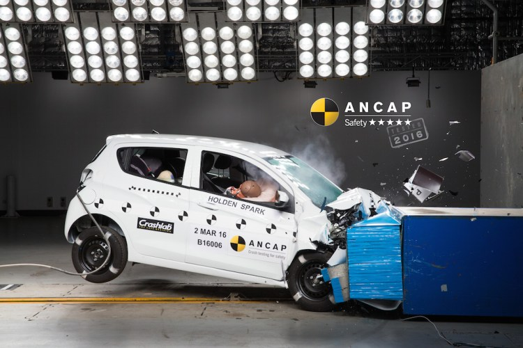 Holden Spark gets 5 star ANCAP rating