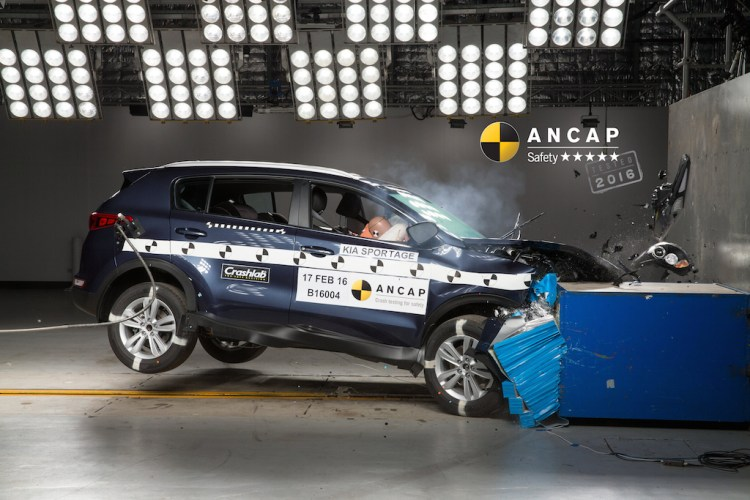 Kia Sportage gets 5 star ANCAP rating
