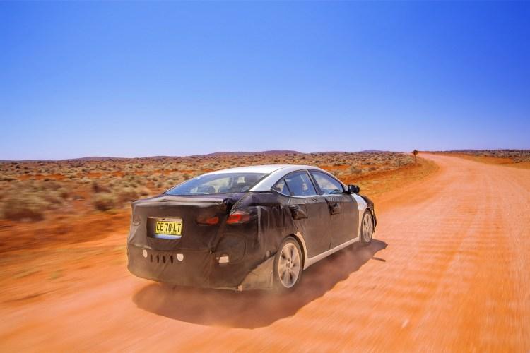 Elantra AD outback testing 08
