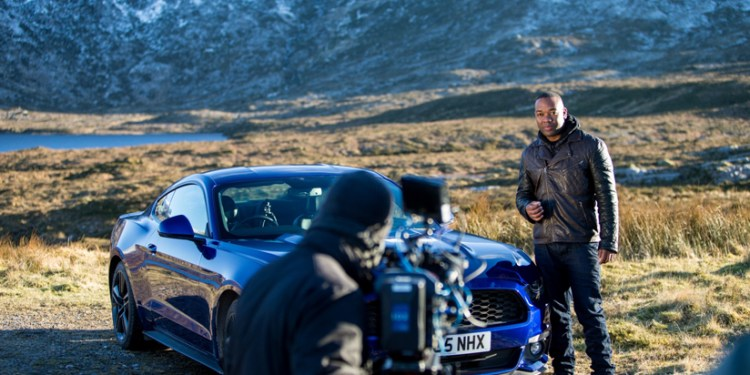 Behind the scenes with Rory Reid and the Mustang 2.3L 'EcoBoost' 4 Cylinder Turbo.