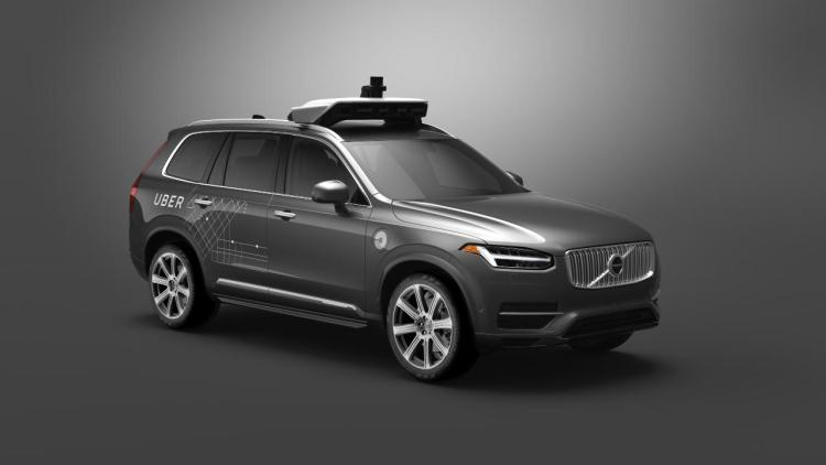 Volvo and Uber join forces to build autonomous driving cars