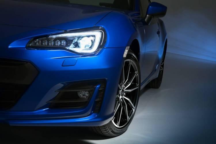 2017 Subaru BRZ revealed