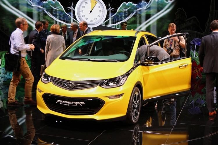 Opel Ampera - Paris