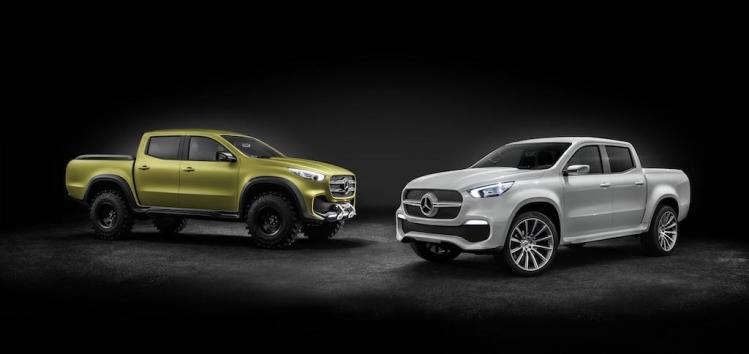 Mercedes-Benz X-Class ute revealed