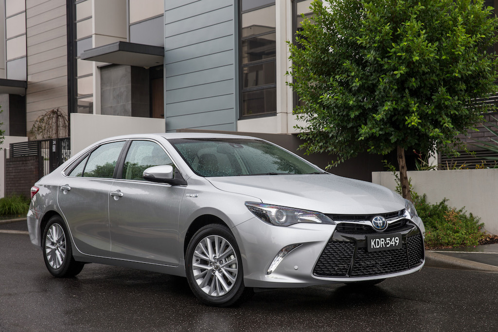 2016 toyota camry atara sl hybrid review practical motoring. Black Bedroom Furniture Sets. Home Design Ideas