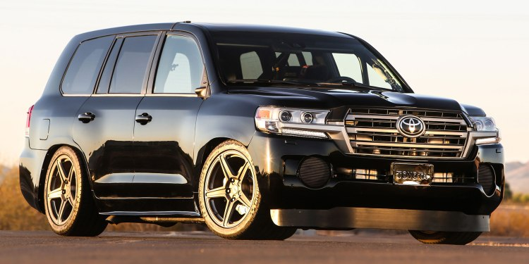 Toyota Land Speed Cruiser revealed