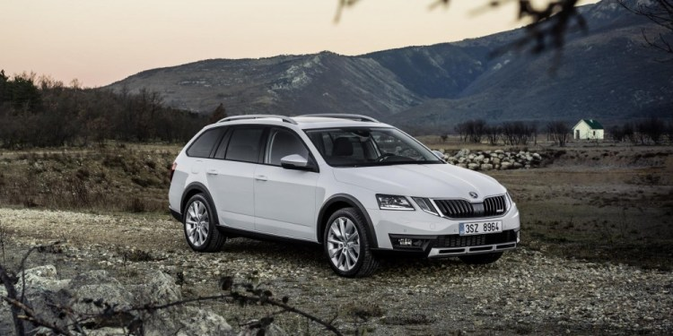 Refreshed Skoda Octavia Scout revealed