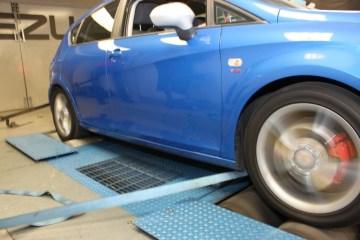 fuel consumption testing - rolling road