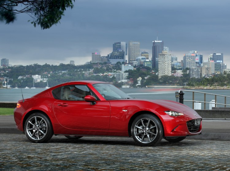2017 Mazda MX-5 RF Review - Practicalmotoring.com.au