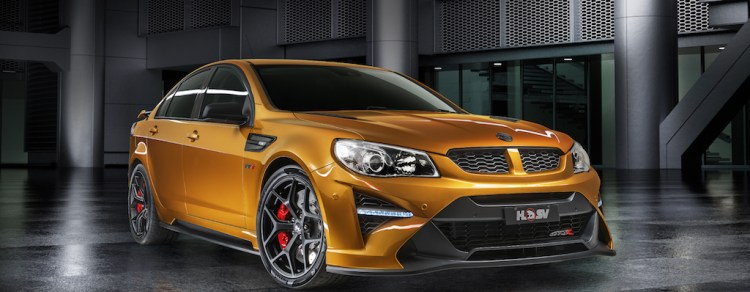HSV GTSR W1 launched and already sold out