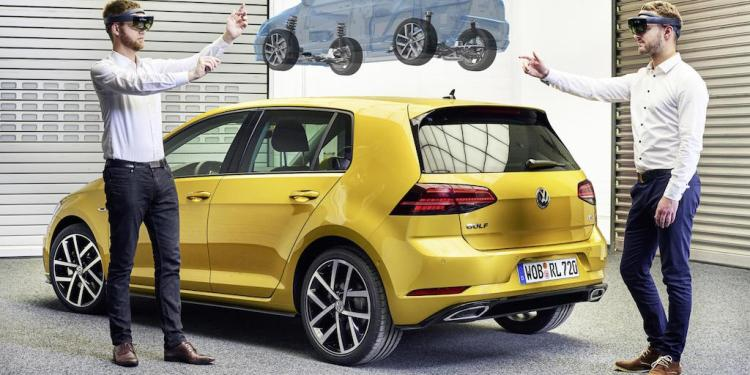 Looking to the future, Volkswagen has begun testing mixed reality glasses for fast-changes to car designs…