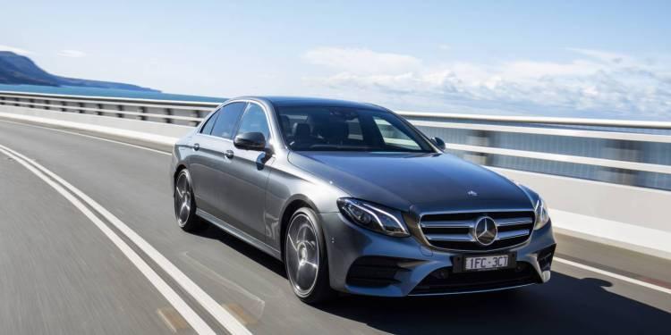 Mercedes-Benz E-Class testing in Australia