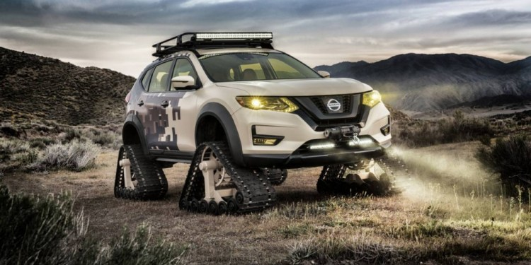 Nissan Rogue Trail Warrior revealed