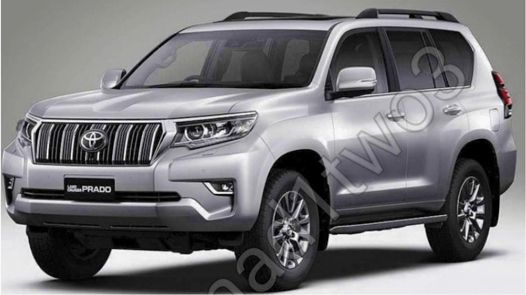 Facelifted 2018 Toyota Prado Leaked interior and exterior images