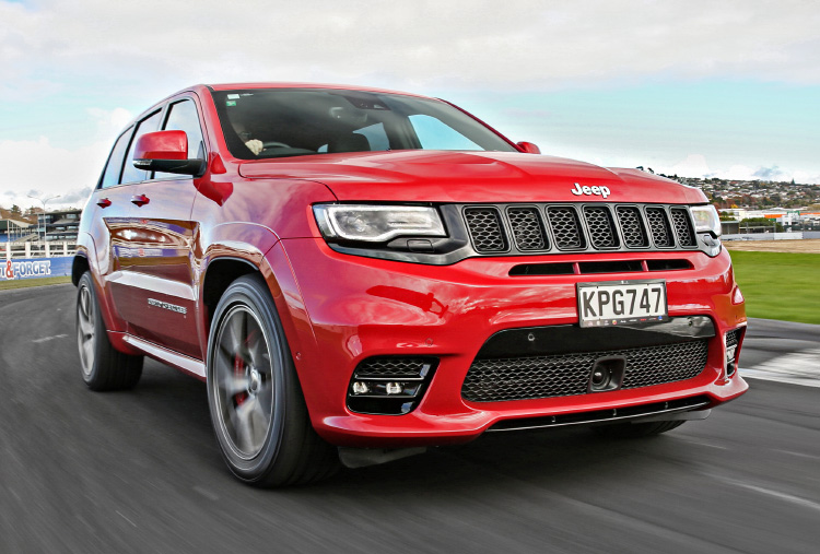 2017 Jeep Grand Cherokee SRT Review | Practical Motoring