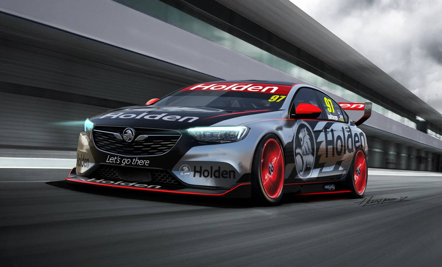 Holden Commodore V8 Supercar revealed