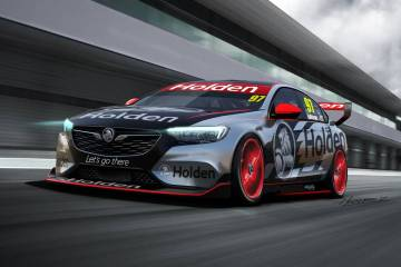 Holden Commodore Supercars Concept