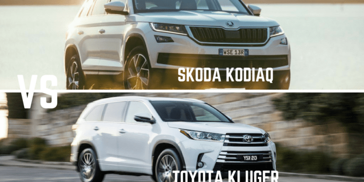 Skoda Kodiaq vs Toyota Kluger