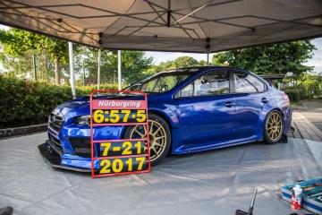 Subaru WRX STI sets Nurburgring lap record
