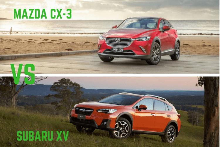 Mazda CX-3 Vs Subaru XV