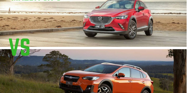 Mazda CX-3 Vs Subaru XV