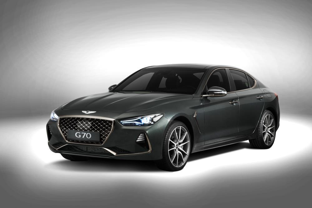 Hyundai targets 3-Series with new Genesis G70