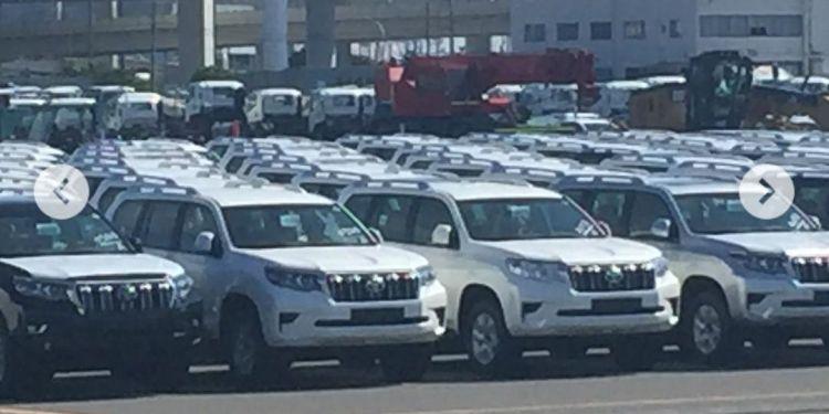 Toyota Prado spied