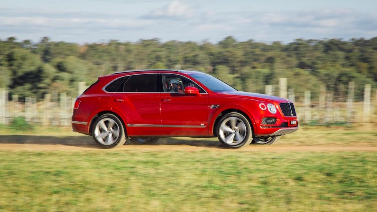 Bentley Bentayga review by Practical Motoring