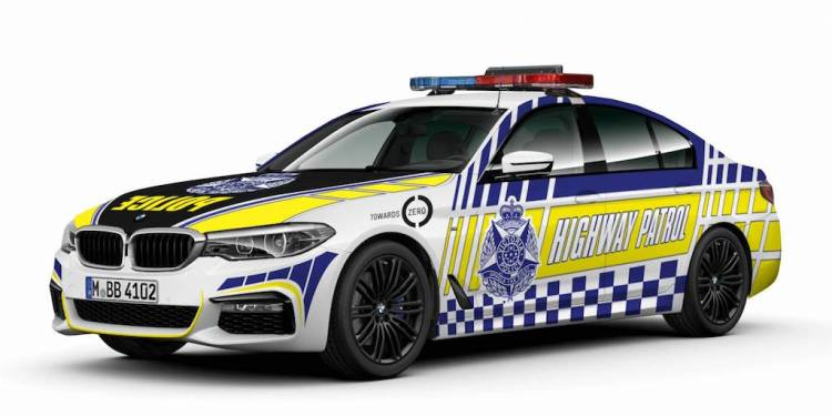 BMW 530d picked as new Victoria Police highway patrol cars