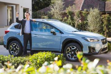Subaru to offer mobile test drive service in Sydney