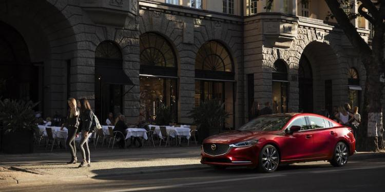 New Mazda6 revealed