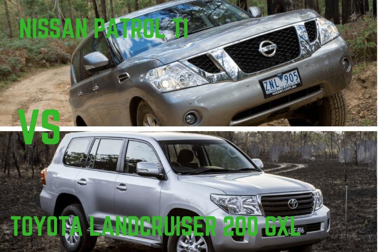 NIssan Patrol Ti Vs Toyota LandCruiser 200 GXL