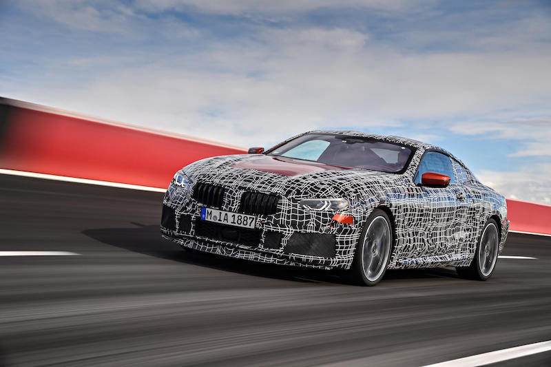 New BMW 8-Series Coupe Gears Up For High-Speed Endurance Tests