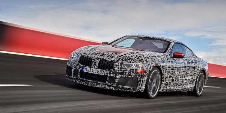 BMW 8 Series testing in Italy