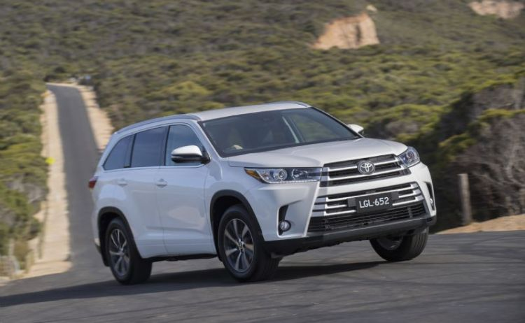 Toyota Kluger gets price increase and active safety as standard